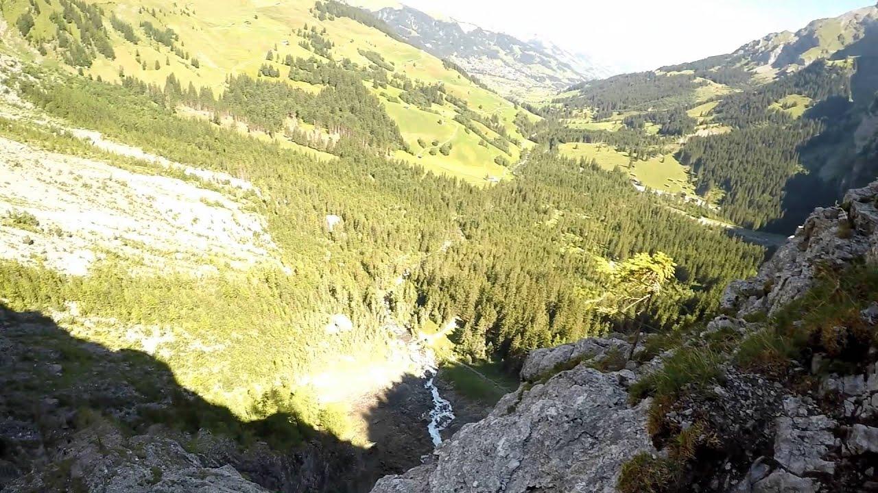 Klettersteig Adelboden : Chlettersteig chäligang adelboden youtube