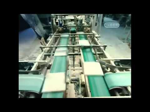 Производство керамической плитки.