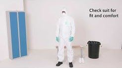 (EN) DONNING AND DOFFING TYPE 5/6 CHEMICAL PROTECTIVE CLOTHING