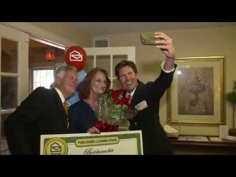Publishers Clearing House Winners: Celeste Bauman From Corpus Christi,  Texas Wins $25,000