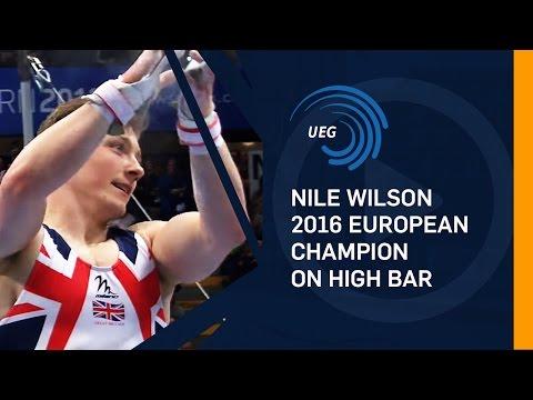 Nile WILSON (GBR) – 2016 European champion on High Bar