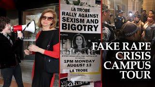 Bettina Arndt's Fake Rape Campus Tour - Part 1