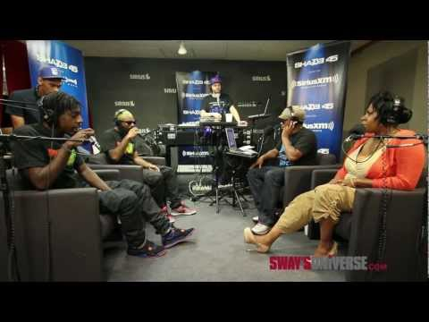 "Flatbush Zombies Perform ""Thug Waffle"" Live on #SwayInTheMorning's In-Studio Concert Series"