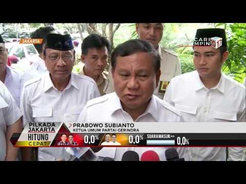Prabowo Pantau Hasil Pilkada
