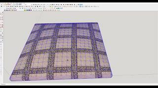 How to make pillow with sketchup