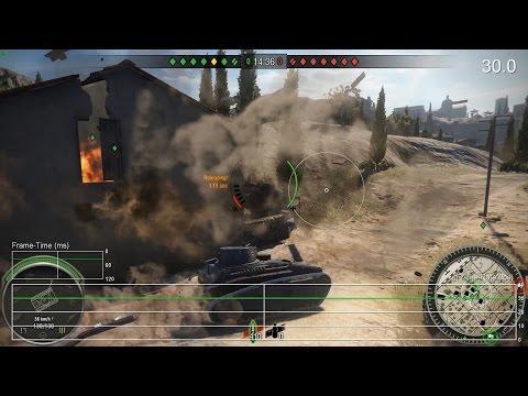 Издание Digital Foundry протестировало стабильность частоты кадров в игре World of Tanks на Xbox One