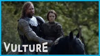 Supercut: Arya and the Hound