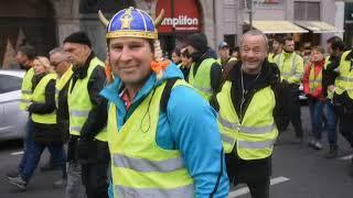 Gilets jaunes Acte IV au Puy-en-Velay (8 décembre 2018)