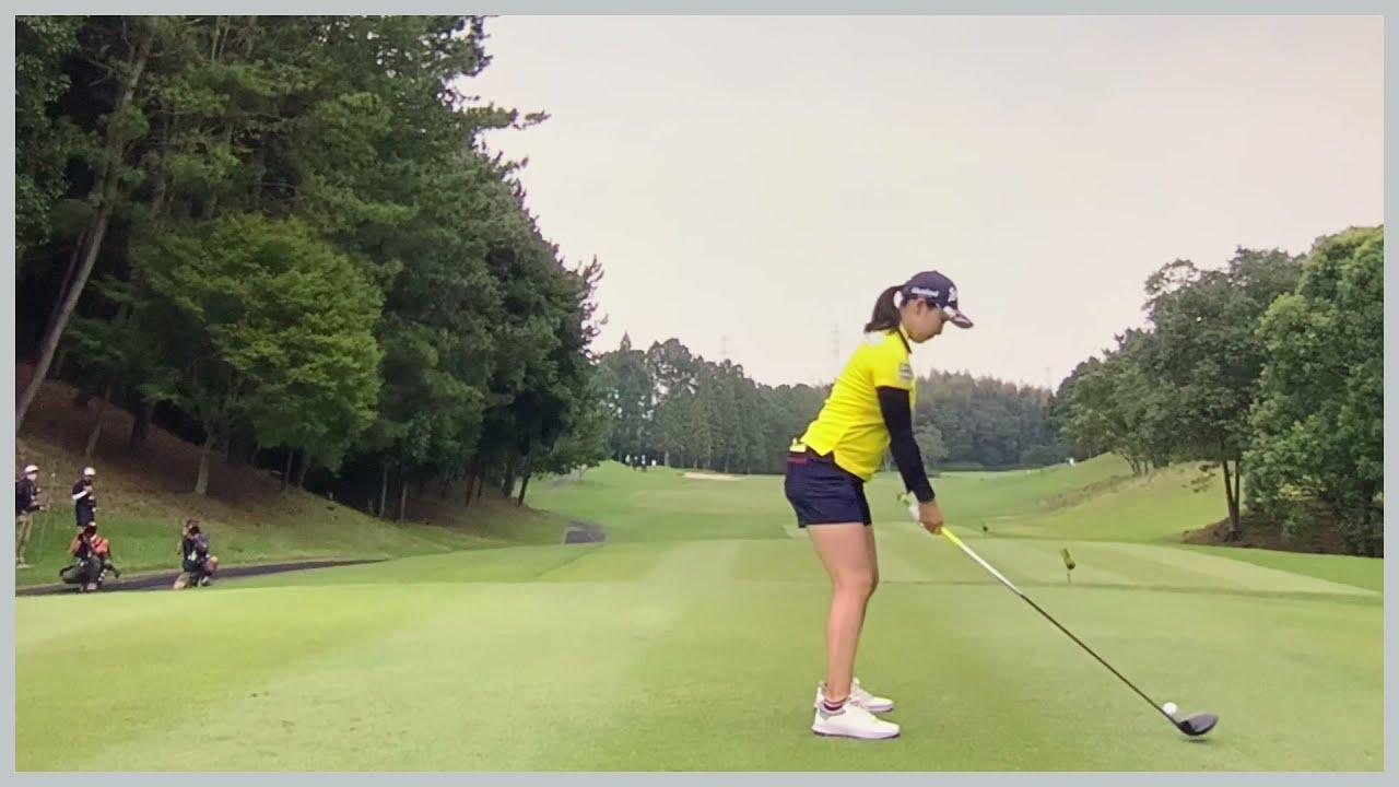 【ゴルフ】 小祝さくら スイング
