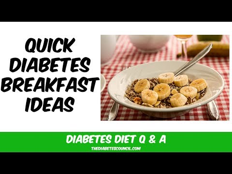 Quick Diabetes Breakfast Ideas