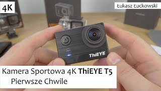 Kamera Sportowa 4K ThiEYE T5 | Pierwsze Chwile