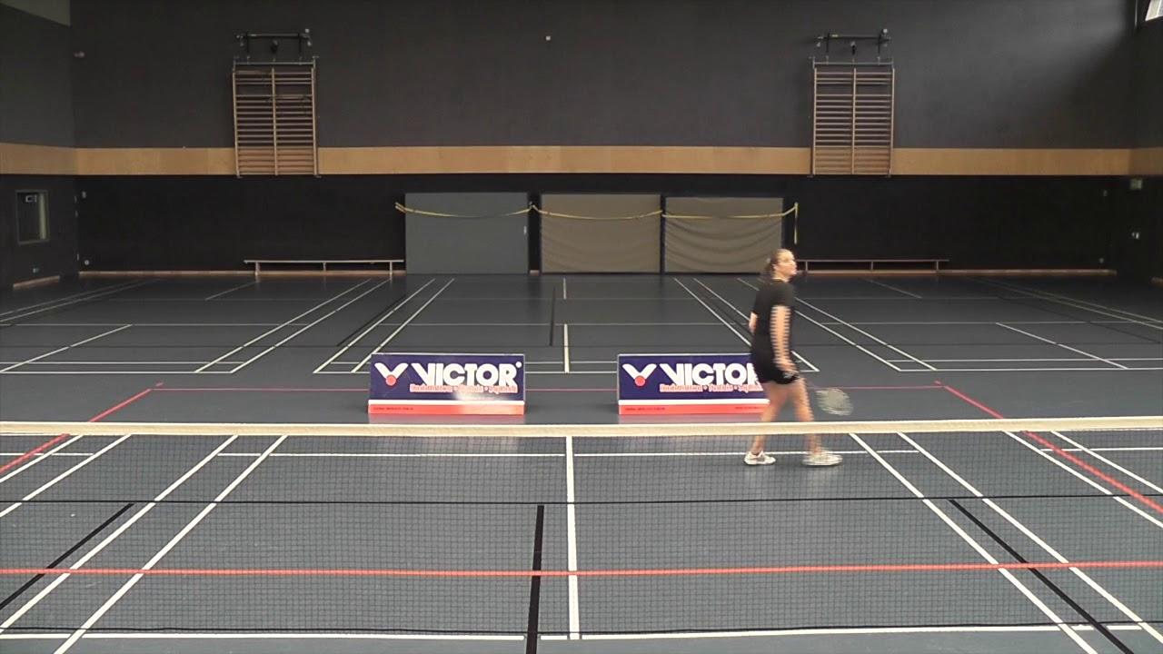Badminton Technik