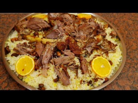 Мажбус/Кабса (Арабский рис с бараниной)