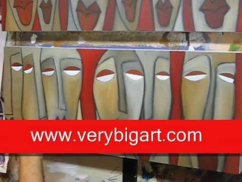 Creating an Original Modern Pop Art Painting - Fidostudio.com
