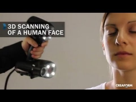 3D Scanning of a Human Body with the Go!SCAN 3D Scanner