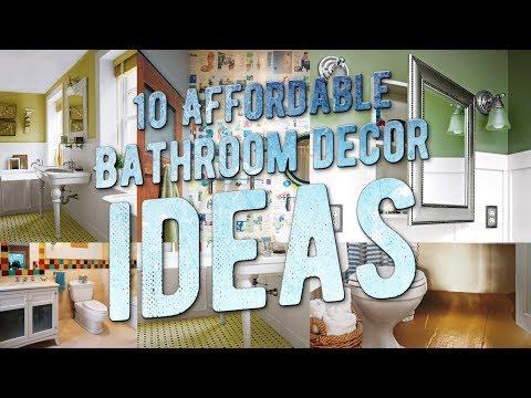 10 Cute and Affordable Bathroom Decor Ideas
