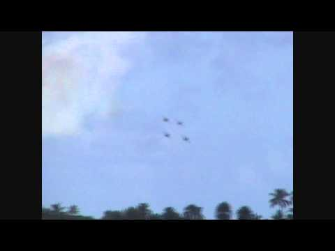 Blue Angels in Kaneohe, Hawaii 2010 (HD)