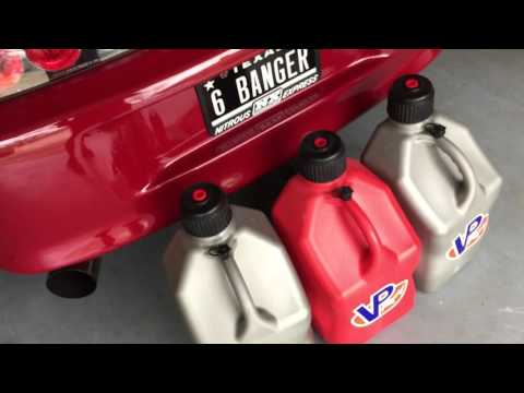 Why You Should ONLY Use VP Racing Fuel Jugs To Store E85!
