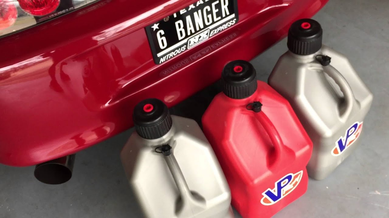 & Why You Should ONLY use VP Racing Fuel Jugs to Store E85! - YouTube