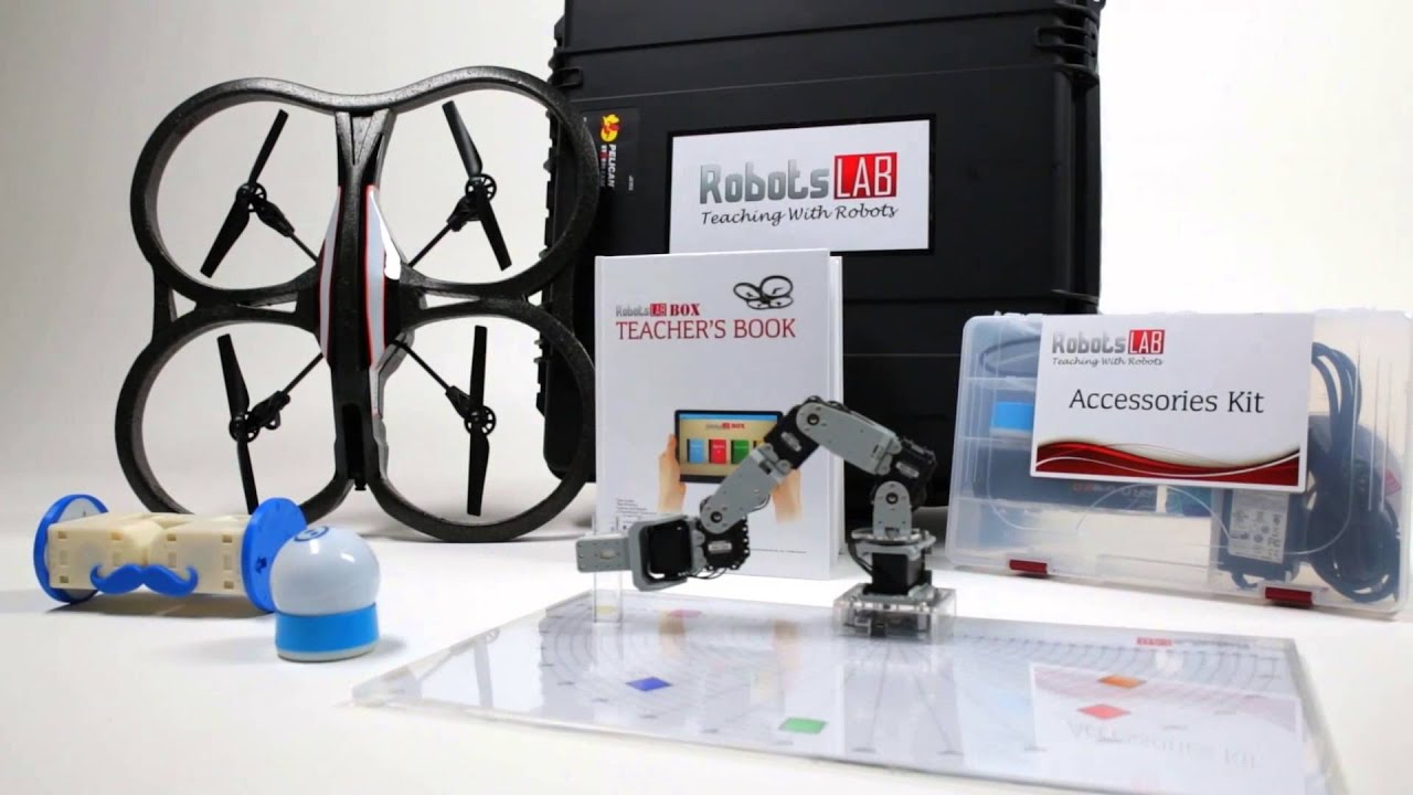 RobotsLAB BOX - The STEM Teaching-Aid for Math and Science - YouTube