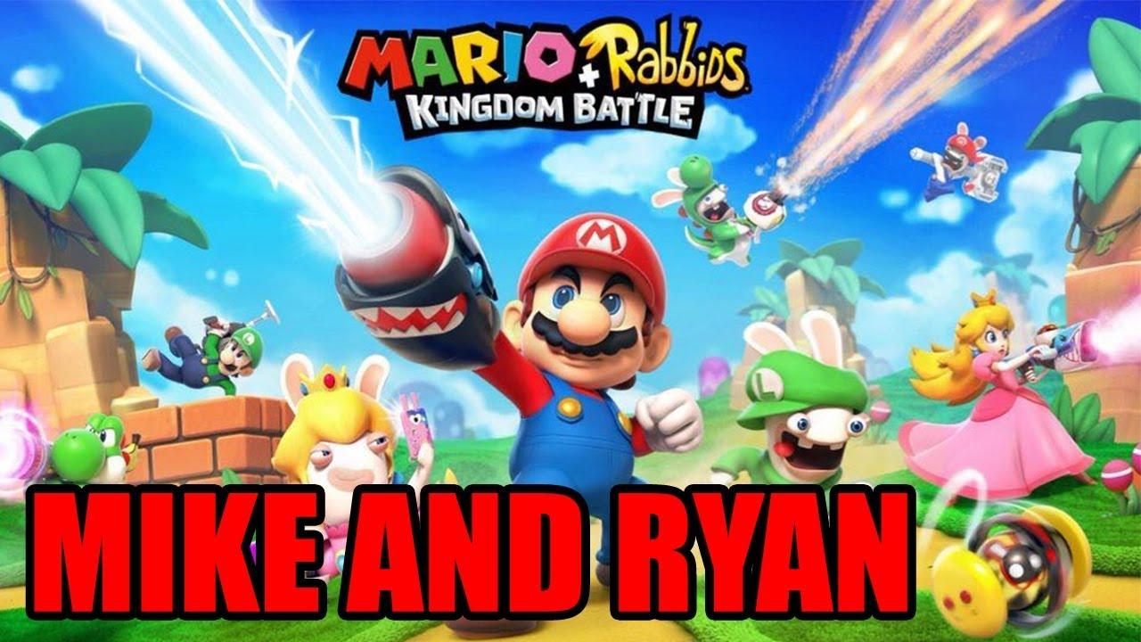 Mario + Rabbids Kingdom Battle (Switch) Mike & Ryan