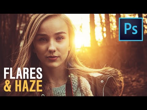 Create Amazing Light Flares & Haze In Photoshop