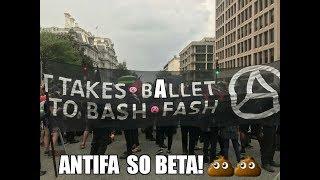 Civil War : ANTIFA Commies Attack Ted Cruz