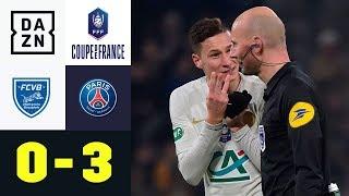Verlängerung! Julian Draxler verhindert Sensation: Villefranche - PSG 0:3 | Coupe de France | DAZN