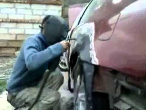 Repair Rear Quarter Panel Prelude 93 Avi Youtube