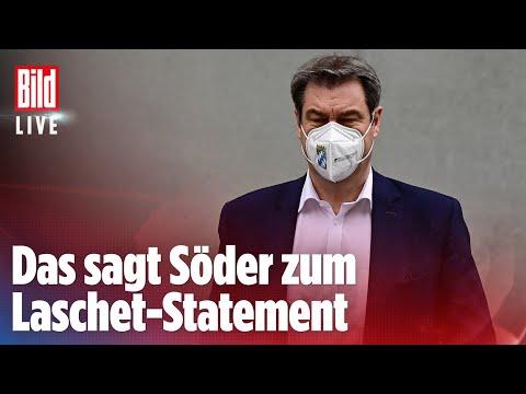 🔴 So reagiert Söder: CDU-Präsidium unterstützt Laschet in Kanzlerfrage   BILD Live Spezial 12.04.21