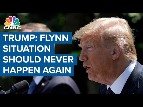 President Donald Trump: What happened to General Flynn should never happen again