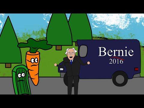 Carrot Man - Bernie Sanders Bus Tour