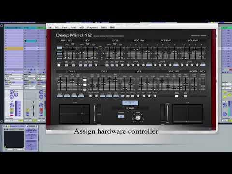 DeepMind 12 Editor Controller - VST Standalone AU