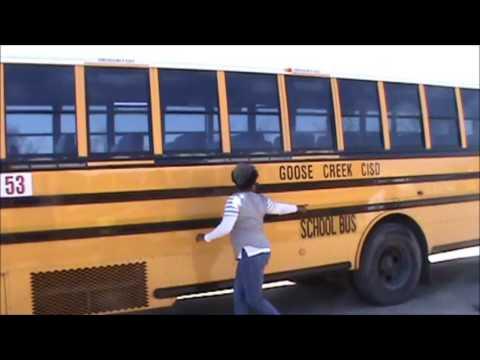 Class B CDL Inspection of a Thomas School Bus