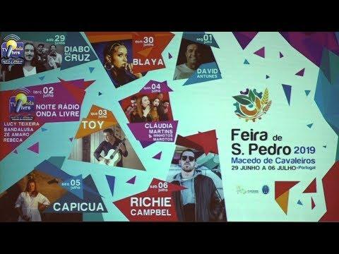 ONDA LIVRE TV - Feira de São Pedro volta a ter oito dias em 2019