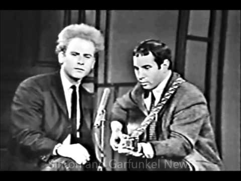 Simon & Garfunkel - 'Let's Sing Out' - Canadian TV, Live, 1966