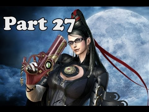 Let's Play Bayonetta Part 27 - Courage the Cowardly Angel