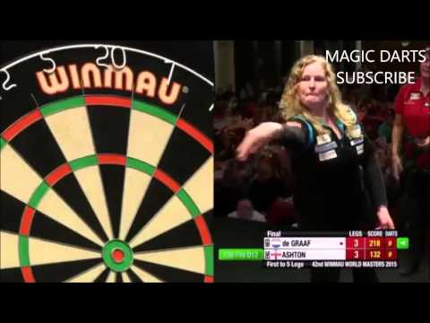 Lisa Ashton 9 magic darts