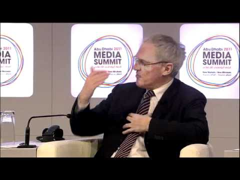Jean-Bernard Levy, Vivendi talks with Ben Fenton, The Financial Times, Abu Dhabi Media Summit 2011