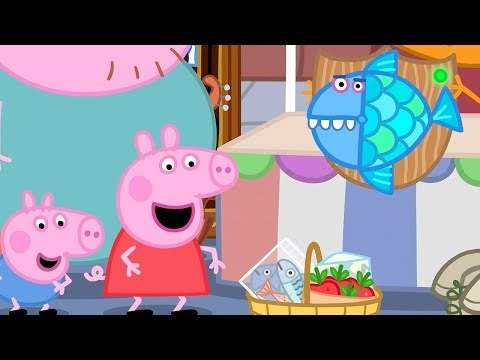 Peppa Pig Full Episodes - The Market - Cartoons for Children