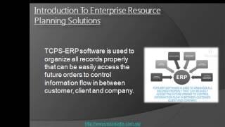 Enterprise Resource Planning Solutions