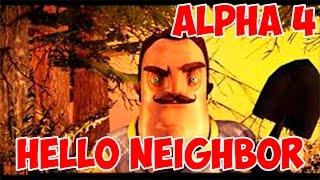 HELLO NEIGHBOR ALPHA 4 НОВОСТИ ВИДЕО СКРИНШОТЫ КОГДА ВЫЙДЕТ ИГРА ПРИВЕТ СОСЕД АЛЬФА 4