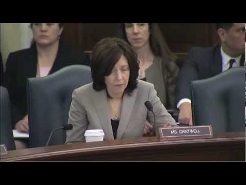 Cantwell Praises Fed. Maritime Commission Chair nom. Richard Lidinsky for Record of Public Service