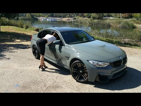 BMW M3 in Grigio Medio / M Accessories / Exhaust Sound / BMW Review