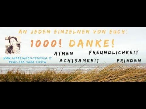 Tedesco 1000 Tausend Dank