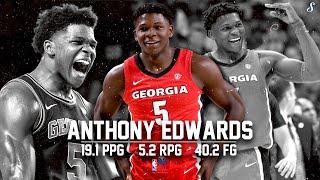 Anthony Edwards UGA 2019-20 Season Montage | 19.5 PPG 5.3 RPG 40.9 FG%, Projected #1 Pick