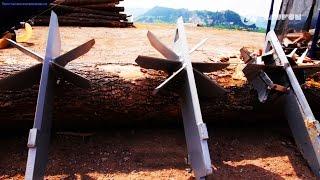 Как заготавливают дрова на западе. Часть 2. Лишь бы не работать руками.