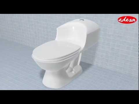 Instalaci n inodoro vittoria one piece youtube for Marcas de wc