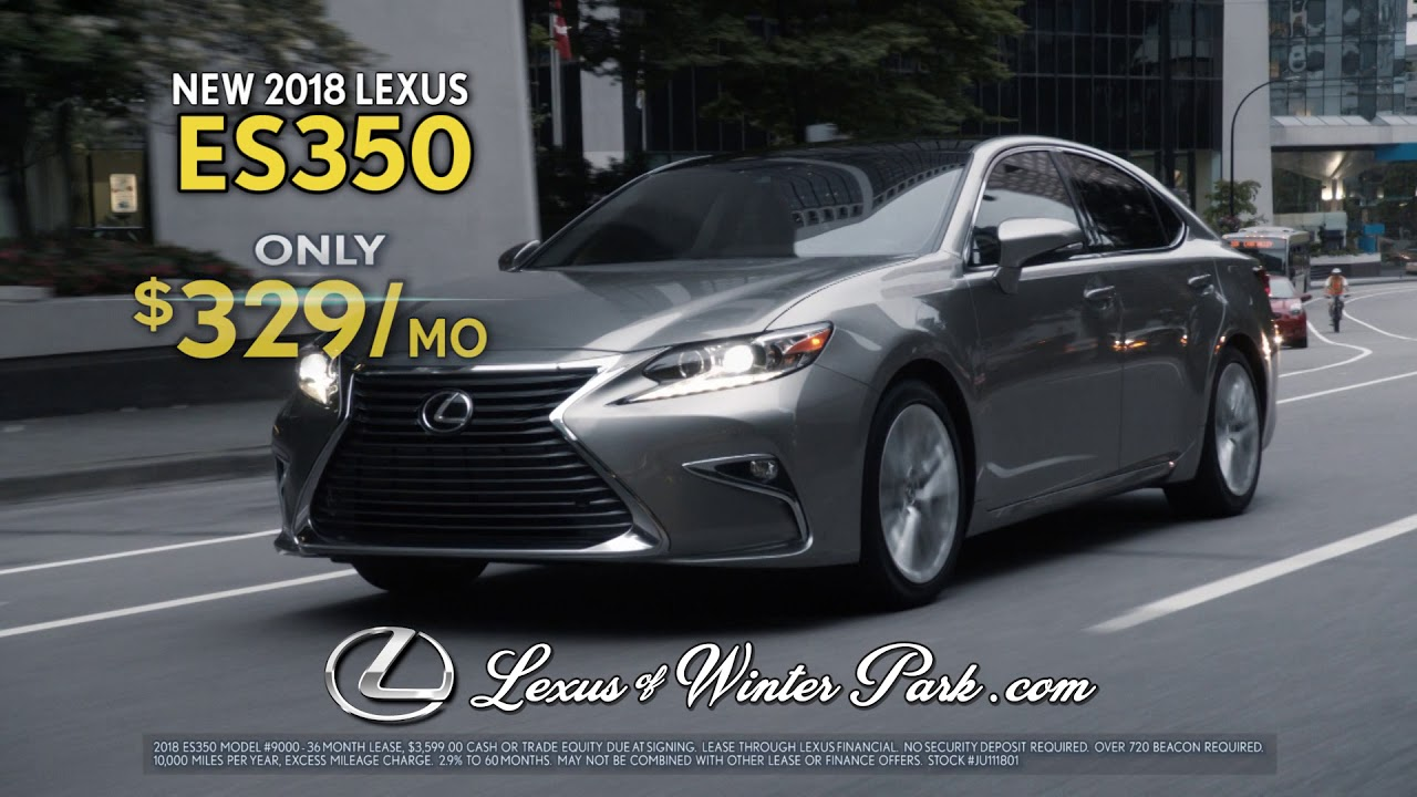 Lexus Of Winter Park | 2018 Lexus ES 350 | Fall Collection Sales Event