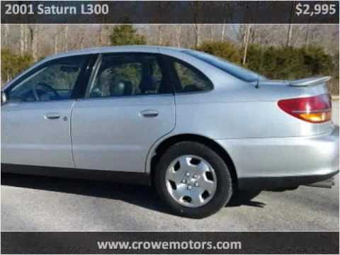2001 saturn l300 used cars mt orab oh youtube